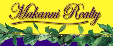Logo for Big Island and Oahu Real Estate brokerage, Makanui Realty